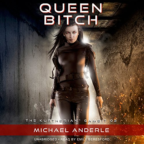 Queen Bitch audiobook cover art