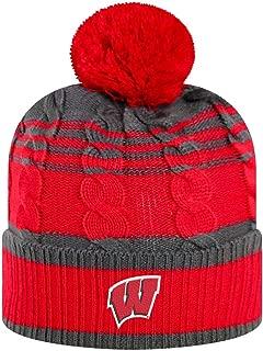 Captivating Headwear Unisex NCAA Collegiate Pom Beanie Hat