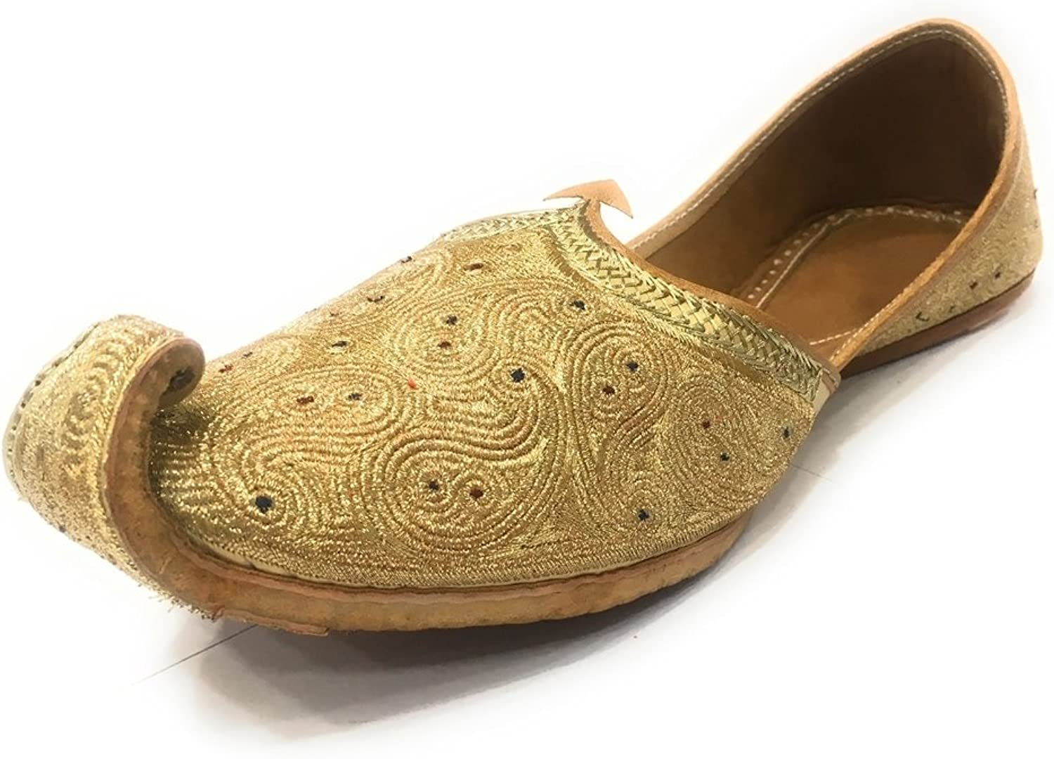 Step n Style Jutti Indian Traditional Handmade Khussa Men shoes Wedding Mojari
