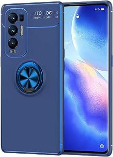 جراب BAIDIYU لهاتف Xiaomi Poco M3، غطاء واقي من الصدمات من السيليكون الناعم، يدور بزاوية 360 درجة (حامل سيارة مغناطيسي) (أ...