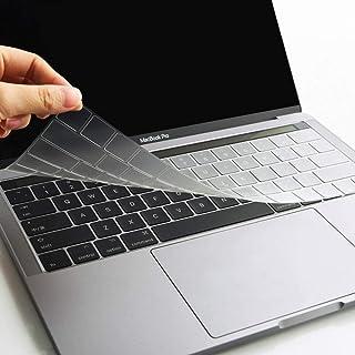 WIWU US Layout غطاء لوحة المفاتيح للكمبيوتر المحمول 13 بوصة برو تاتش بار A1706، 15 بوصة برو تاتش بار A1707