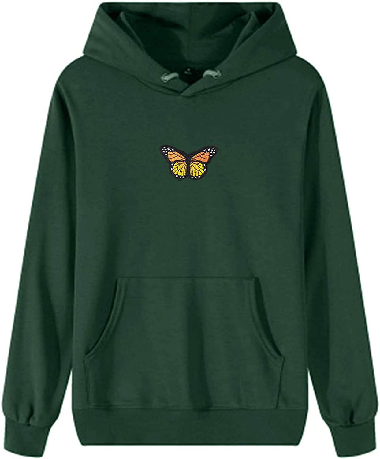 felwors Hoodie for Women, Women's Girls Sweatshirt with Pocket Womens Casual Tunic Cute Cosplay Costume Tops with Zipper