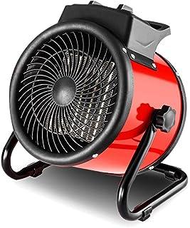 Radiador eléctrico MAHZONG Calentador de Ventilador Industrial de 3KW con termostato Ajustable para Taller de Garaje Invernadero Flota de cobertizo