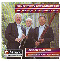 20th Century Music for Wind Trio