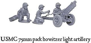 USMC 75mm Pack Howitzer, 28mm metal Bolt Action Wargaming Miniatures
