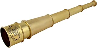THORINSTRUMENTS (with device) 18 Inch Full Brass Vintage Telescope, Excellent For Gifting And Home Decor
