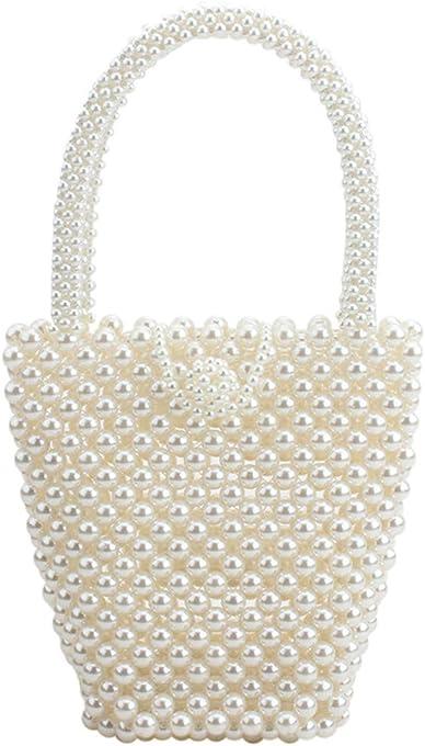 top pearl bag beaded box crystal totes bag women wedding party vintage handbag 2019 luxury brand evening bag clutch wholesale