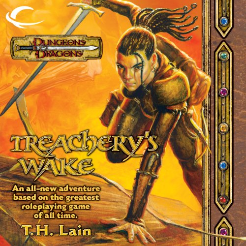 Treachery's Wake audiobook cover art