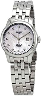 Le Locle Mother of Pearl Diamond Dial Automatic Ladies Watch T006.207.11.116.00