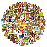 100 Pcs Cartoon Scooby-doo Stickers for Car Laptop PVC Backpack Water Bottle Pad Bicycle Waterproof Decal Sticker Kids Toy/Scooby