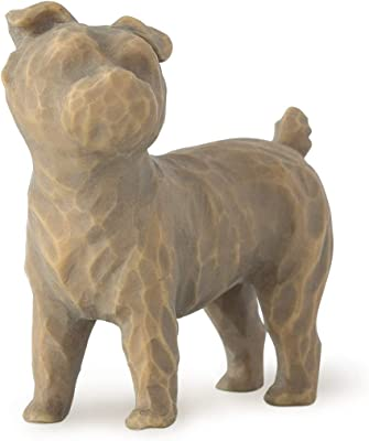 Willow Tree Love My Dog (Small, Standing), Sculpted Hand-Painted Figure