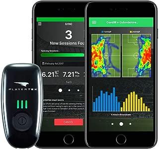 PLAYERTEK ウェアラブルGPSトラッカー サッカー用 アプリ付き ゲームの追跡と改善に –iPhone Androidで使用