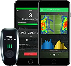 CATAPULT PlayerTek Soccer Tracker - GPS Vest with App to Track Your Game - on iPhone and Android