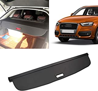 Retractable Rear Trunk Security Shield Cargo Luggage Security Cover Shade Fits 2013-2015 Audi Q3 Cargo Cover