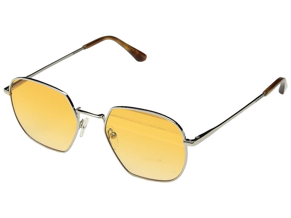 TOMS Sawyer (Shiny Silver) Fashion Sunglasses