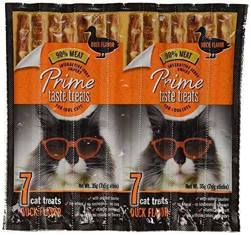 Prime Taste Treats Duck Jerky Treat For Cats, 35G
