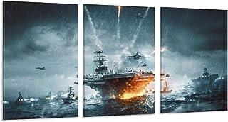 Guoting Battlefield 4 Naval Strike Poster art sur toile moderne Bureau Famille Chambre Décoration Posters Cadeau Décoratio...