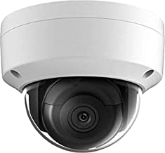 UltraHD 8MP 4K Home/Outdoor Security PoE IP Camera, 2.8mm Fixed Lens, 3840×2160, Dome Network Camera, 100ft IR Night Visio...