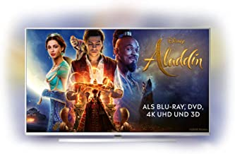 Philips Ambilight 55PUS6814/12 139 cm (55 Zoll) Smart TV mit Alexa-Integration (4K UHD, P5 Perfect Picture Engine, HDR 10+, Dolby Vision, Dolby Atmos, HDMI)