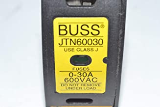 BUSSMANN JTN60030 30A 1P 600V CARTRIDGE FUSE HOLDER DISCONNECT