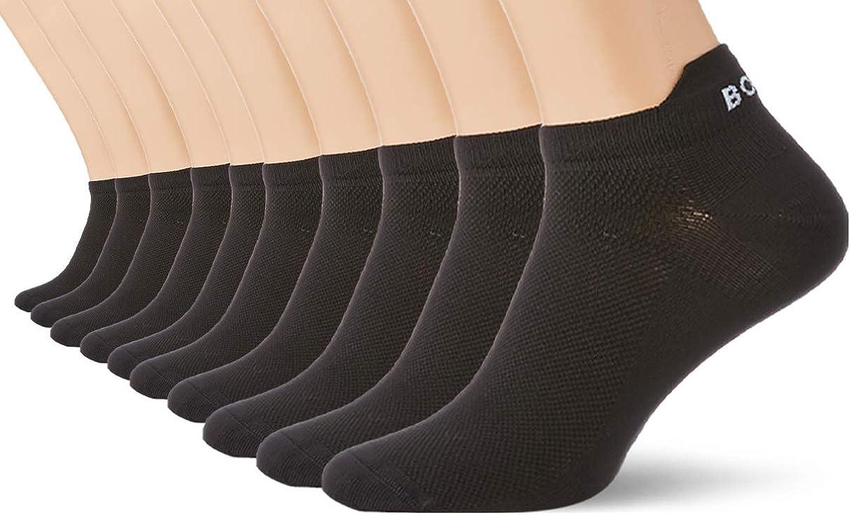 Bjorn Borg Unisex 『4年保証』 商品 Solid Performance Step in Black Socks 2P size