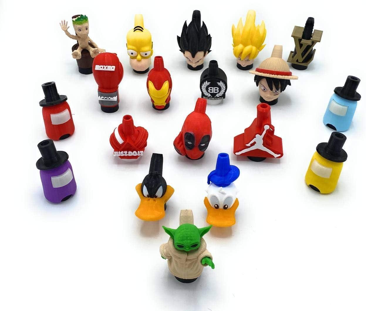 Boquilla premium 3D Shisha, Boquilla Cachimba, Boquilla Hookah, Accesorio Shisha, Accesorio Cachimba, Boquilla 3D, Boquilla Premium (JustDoIt)