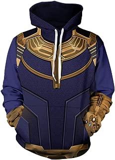 WKDFOREVER 3D Captain Fashion Cosplay Hoodie Jacket Costume