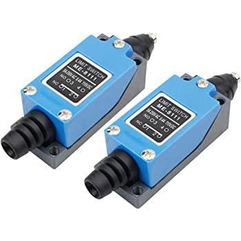 Xenocam ME-8122 Cross Roller Plunger Momentary Limit Switch 1NC+1NO 3Pcs