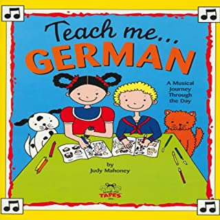 Teach Me German audiobook cover art
