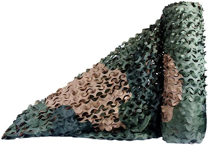 Filet Camo Visière Extérieure GR Mode de forêt Verte Camouflage Net pour Couverture de Voiture Net Camping en Plein air de Camouflage Net Multi-Taille en Option (Taille  1.5  6m) Armée Camo Filet