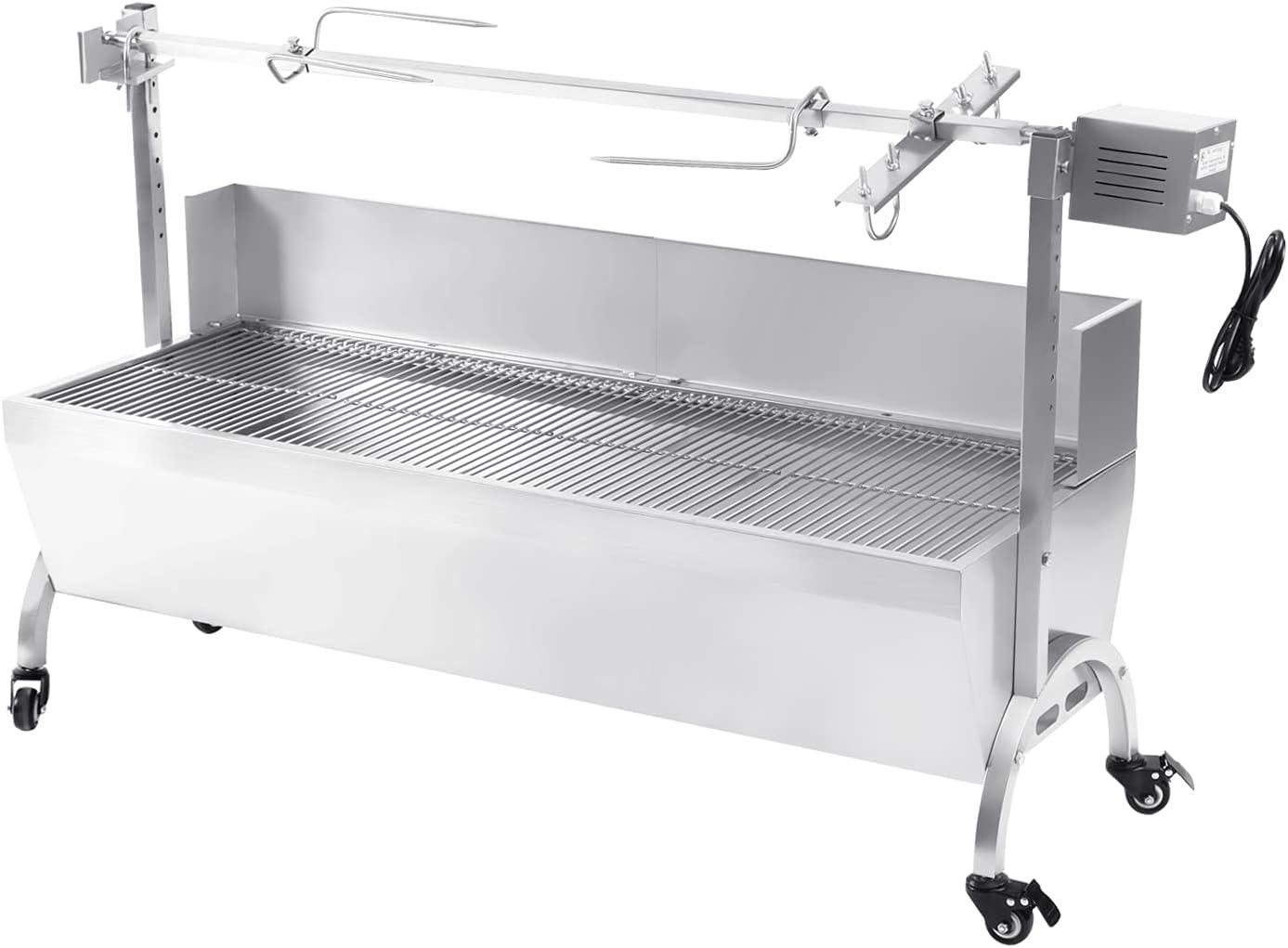 Samger Stainless Steel Rotisserie Roaster Translated Rotisser latest 45 20W Inches