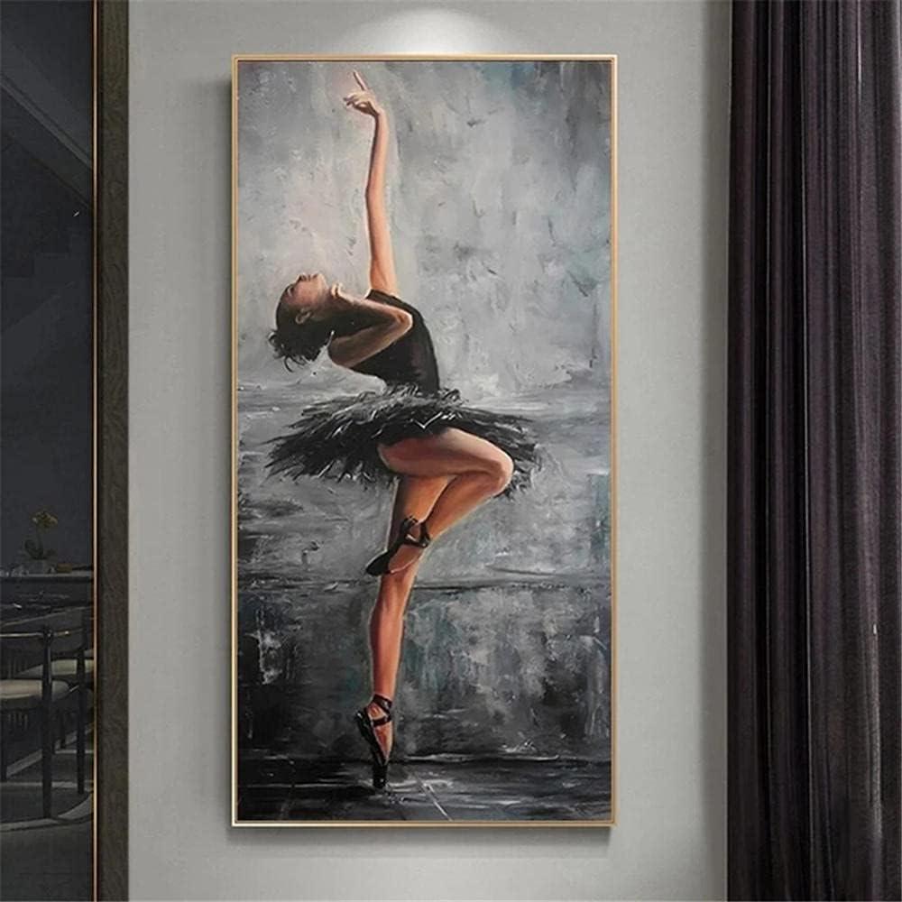 DIY 5D Ranking TOP1 Diamond Painting by Kits Diam 5 ☆ very popular Number Ballerina Beautiful