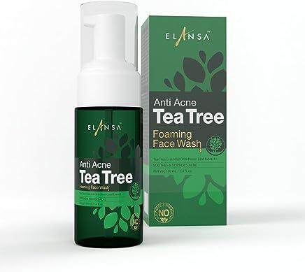 Elansa Anti Acne Tea Tree Foaming Face Wash, 100ml
