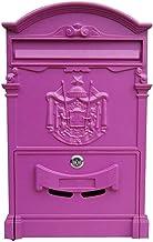 Wandmontage postbus, brievenbus, brievenbussen voor buiten wandgemonteerde vergrendelde brievenbus decoratieve outdoor bri...