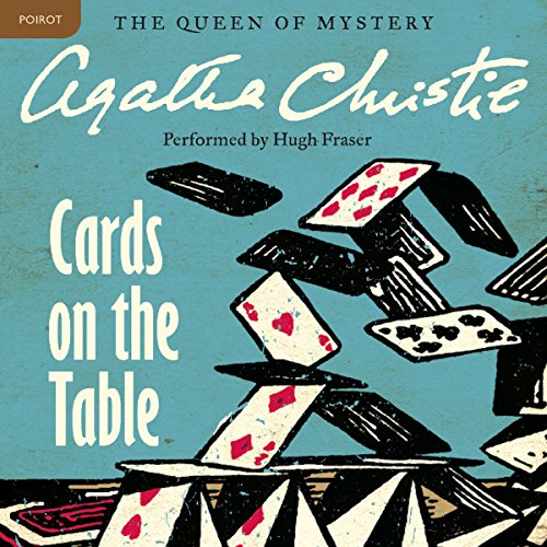 Cards on the Table audiobook cover art