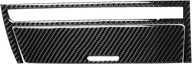 Carbon Fiber Interior Instrument Dashboard Console Gear Box Ashtray Storage Panel Frame Decal Cover Trim for BMW 3 Series 4th E46 320i 325i 330i 335i 340i M3 1998-2006