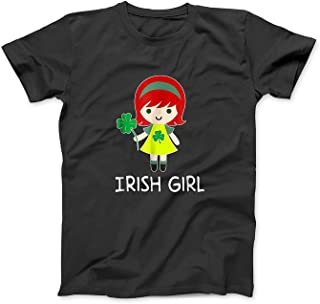 Mint Mama St Patricks Day Little Irish Girl T Shirt