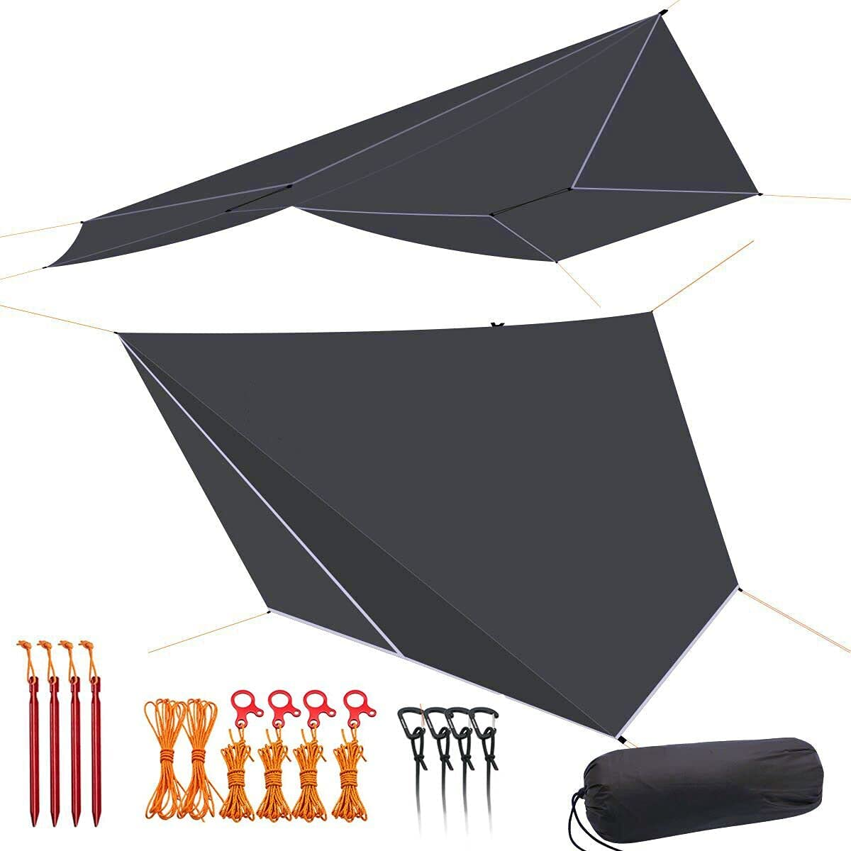 onewind Tarp Hammock Rain Fly 5000mm trend rank Quantity limited Guyli Silnylon Shelter