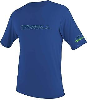 O'Neill Wetsuits Unisex Kids Youth Basic Skins Short Sleeve Sun Shirt Short Sleeve Shirt