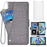 Asuwish Compatible with Samsung Galaxy J6 Plus 2018 Wallet