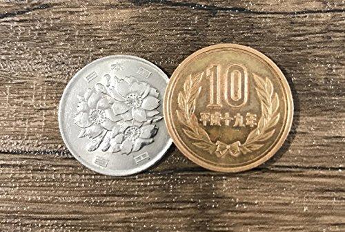日本コインユニーク10円?100円コインマジックトリックスコッチ&ソーダ - Japanese Coin Unique 10 yen - 100 yen Close Up Coin Magic Trick Scotch and Soda