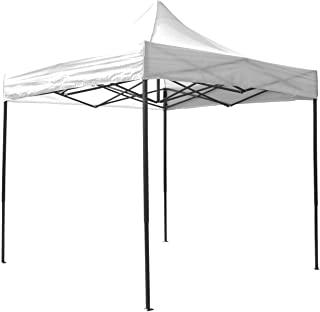 AIRWAVE Gazebo Four Seasons Essential Pop Up with No Sides Waterproof 3 x 3m (White)