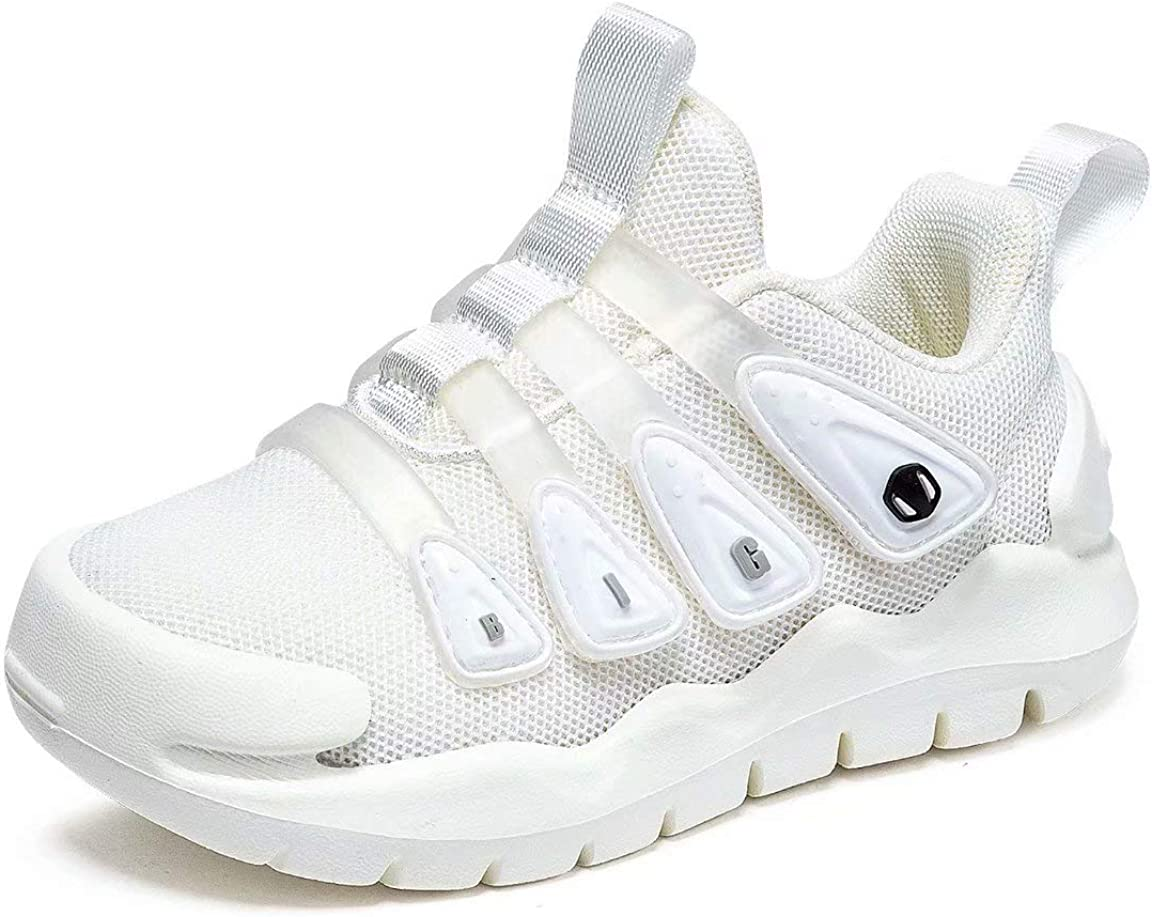 BIG WASP Toddler Boys Girls Sneakers Kids Lightweight Tennis Shoes Breathable Kids Jogging Shoes