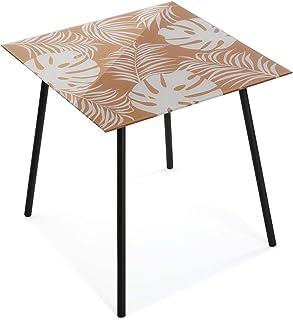VERSA Table en verre New Leaves 2