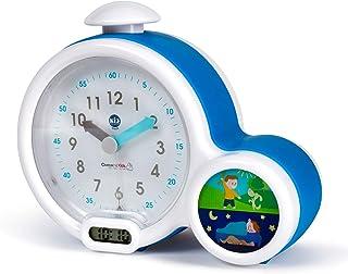 Claessens' Kid - Clock - Réveil Enfant Educatif Jour/Nuit Lumineux - Double Affichage et 3 Alarmes au choix - Fonctionne S...