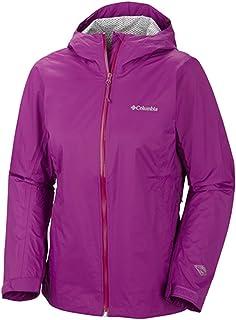 Columbia Women's Evapouration Jacket, Razzle, Large