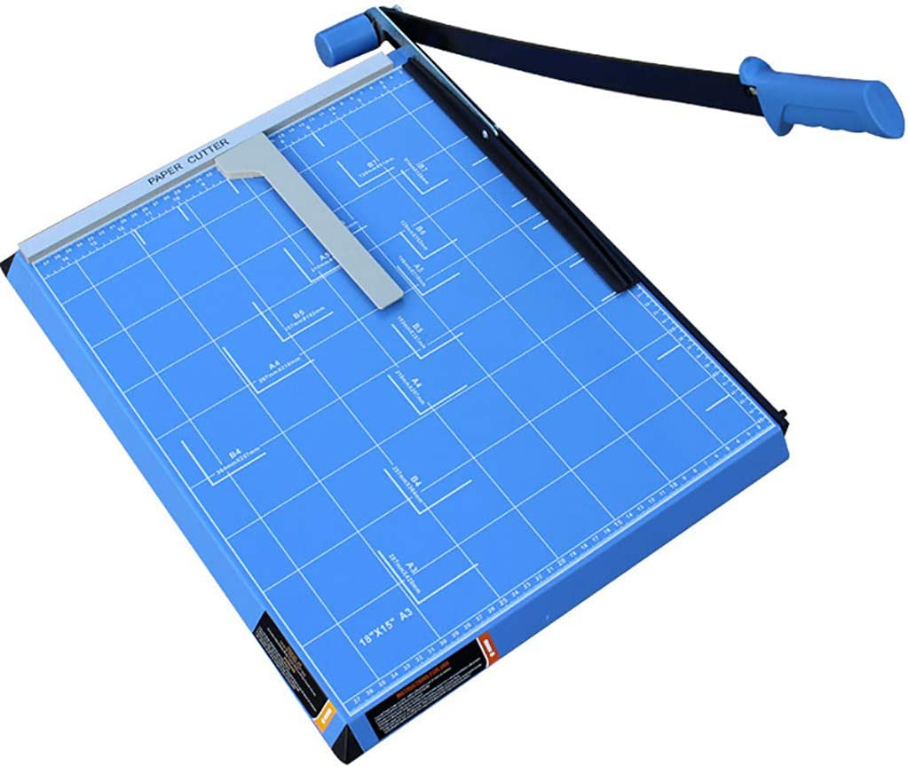 Guillotine Cutter Blue Heavy Seattle Mall Duty Paper Automatic Trimmer 67% OFF of fixed price with