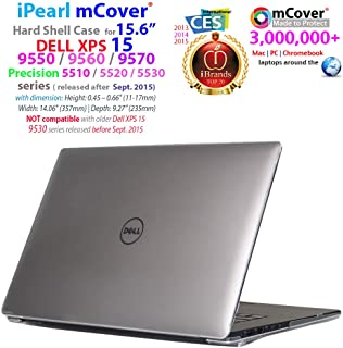 mCover iPearl mCover Hard Shell Case (mCover-DELL-XPS15-9550-CLEAR)