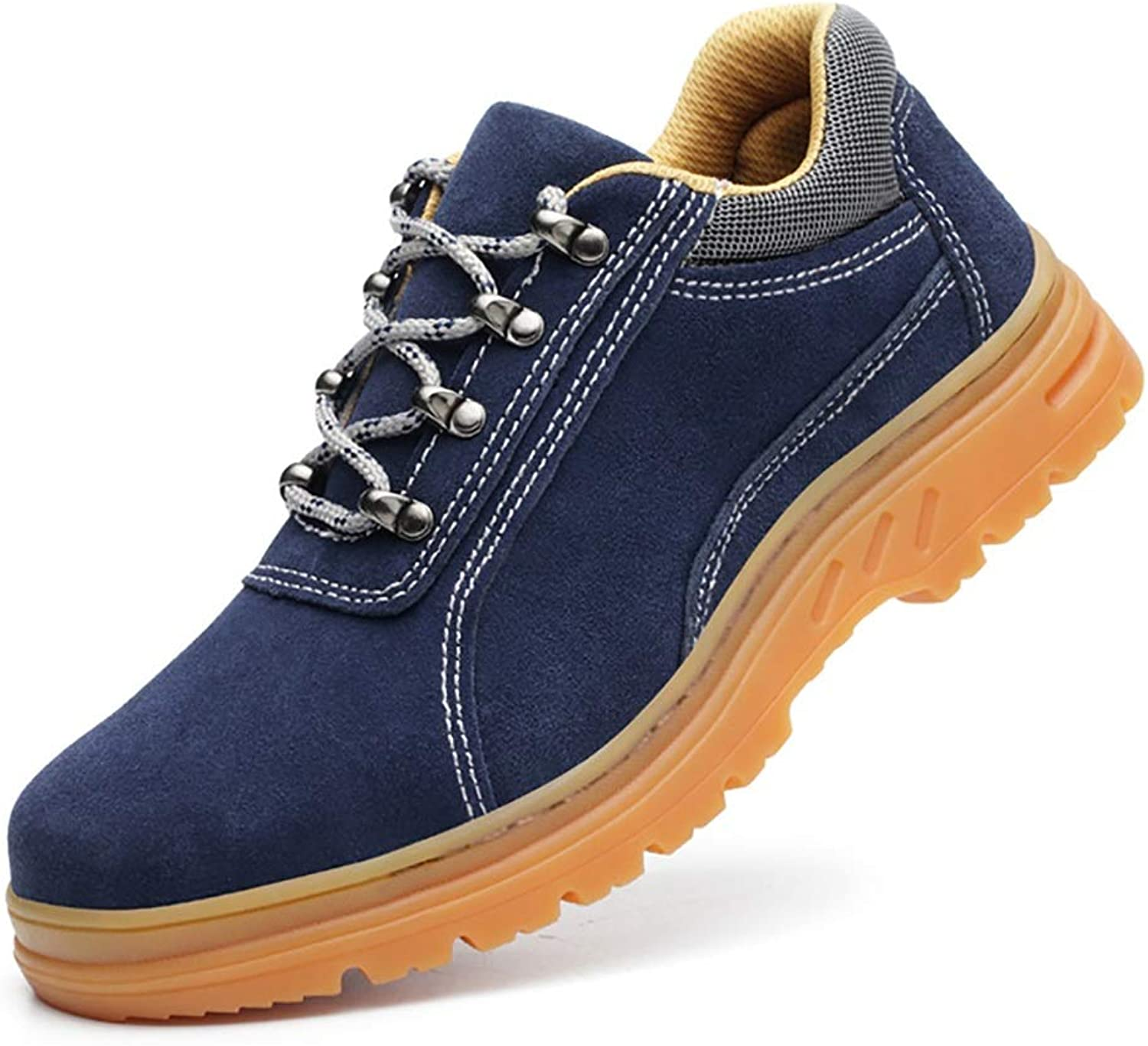 XBXZ safety shoes gym wear for men Anti-Piercing Safety shoes, mountaineering shoes, labor insurance training, canvas low wear, anti slip, construction site shoes on cloud running shoes work boots