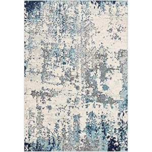 Artistic Weavers Arti Modern Abstract Area Rug, 6'7″ x 9′, Blue